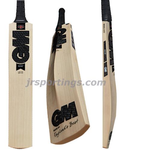 GM Cricket Noir DXM 404 Cricket Bat Size 4 Black